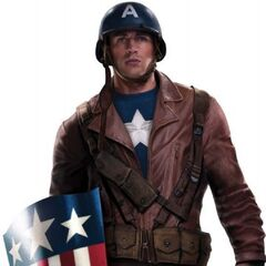 Second Uniform (based on the first Ultimate Captain America's suit).