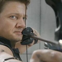 Hawkeye from the teaser trailer.