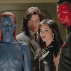 Mystique with Brotherhood Of Mutants.