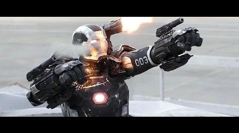 War Machine - Fight Moves & Flight Compilation HD