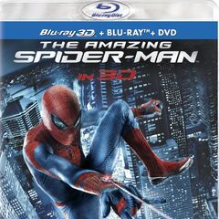 The Amazing Spider-Man<br />US Blu-ray 3D cover