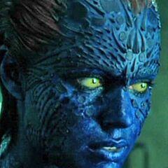 Mystique learns of Dark Cerebro while locating Magneto.
