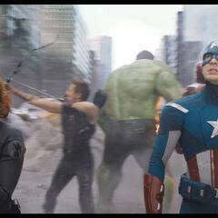 Avengers Assemble.