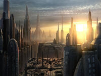 Future New York 2110 AD