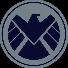 Marvel shield logo dark by silver2012-d6i2c0e