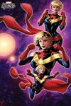 Captain Marvel (Modern) Women of Power Cover