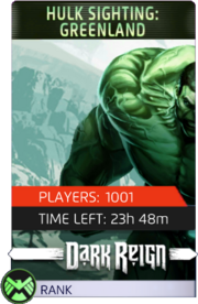 The Hulk Event Greenland