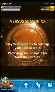 Season XX Screen