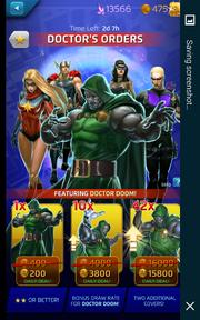 Doctor's Orders Comic (Season XII) Offer