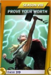 Prove Your Worth (Season VIII)