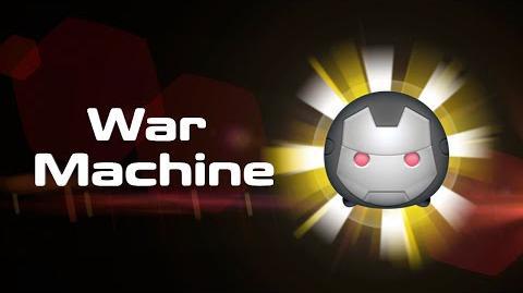 War Machine Skills Intro MARVEL Tsum Tsum