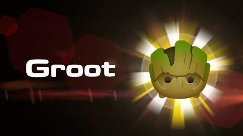 Groot Skills Intro MARVEL Tsum Tsum