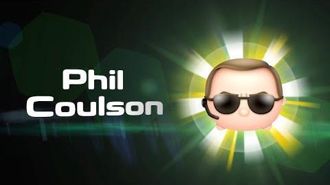 Phil Coulson Skills Intro MARVEL Tsum Tsum