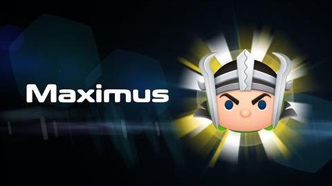Maximus Skills Intro - MARVEL Tsum Tsum