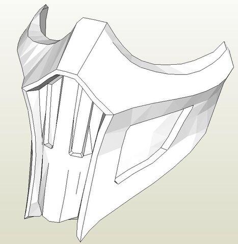 File:Mortal Kombat 9 Noob Saibot's Mask Papercraft.jpg