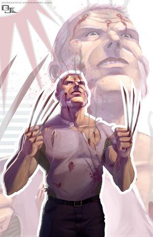 File:Wolverine Old Man Logan by DarkKenjie.jpg