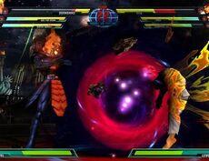 MvC3 Dormammu dark hole