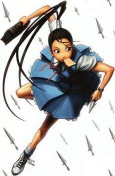 Ibuki SFL school outfit