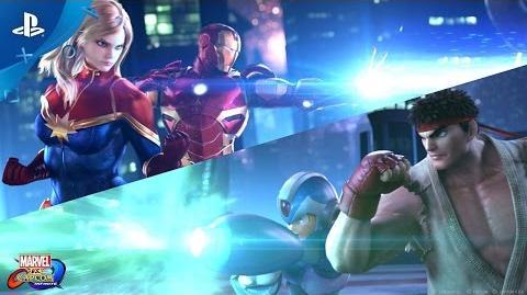 Marvel vs. Capcom Infinite - PlayStation Experience 2016 Reveal Trailer PS4