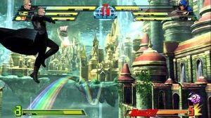 TGS Wesker Gameplay - MARVEL VS