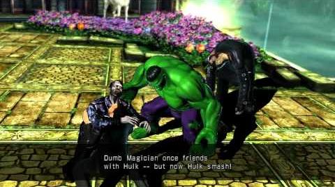 UMVC3 Doctor Strange Quotes