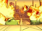 Raging Inferno blown
