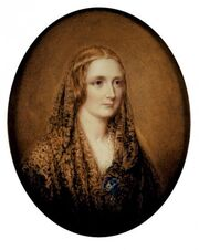 Mary shelley portrait