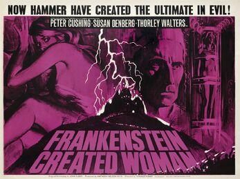 Frankensteincreatedwoman