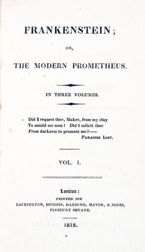 Titlepage large-frankenstein