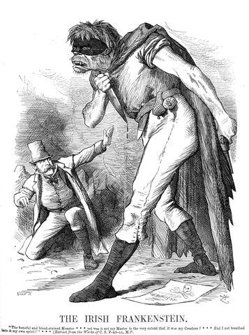File:Punch Anti-Irish propaganda (1882) Irish Frankenstein2.jpg
