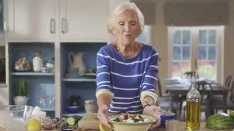 Mary Berry's Watermelon, Feta Cucumber & Mint Salad