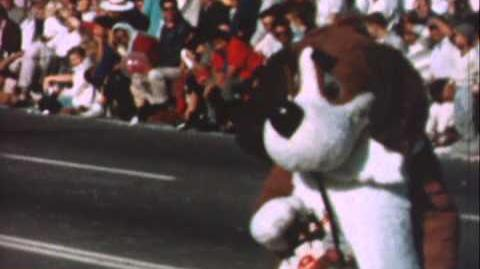 "Dr Pepper ""Frosty"" dog mascot - 1959"