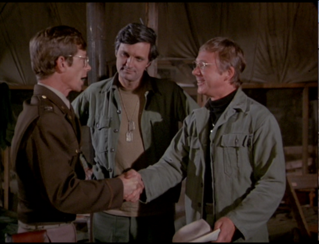 File:MASH episode-3x22 Hawkeye and Mulcahy meet Capt. Sloan.png