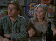 Ep 7x3 - Radar and Margaret talking to Klinger about Col. Rayburn