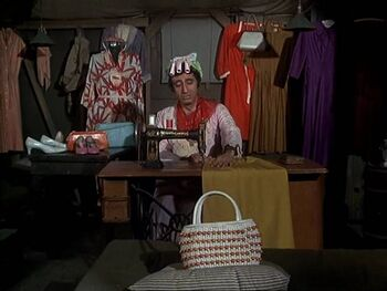 Klinger working on his collection-as you were