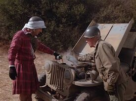 Klinger and the busted jeep-taking the fifth