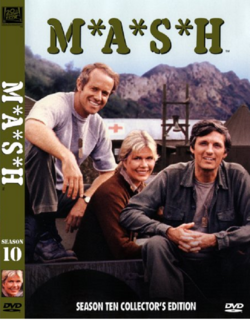 MASH Season 10 DVD cover