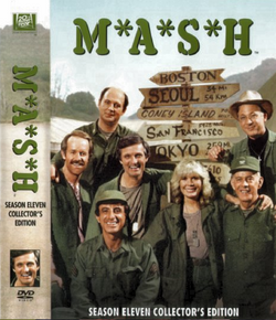 MASH Season 11 DVD cover