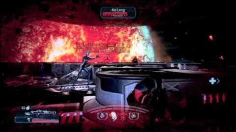 Mass Effect 3 Shepard VS Kai Leng