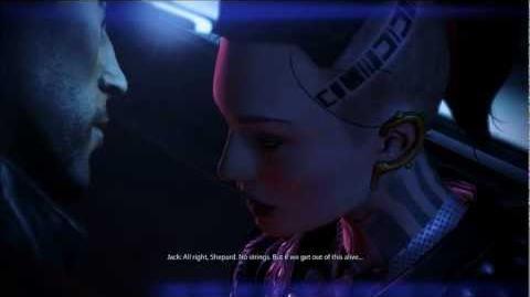 Mass Effect 3 Jack romance.