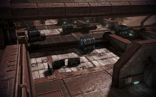 Cerberus attack courtyard layout