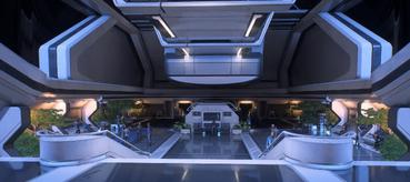 Habitation deck