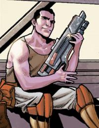 Ben Hislop en Mass Effect: Evolution