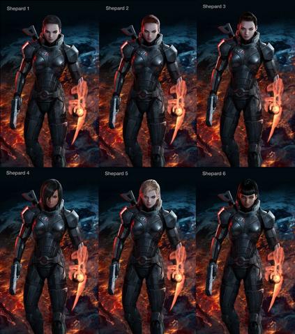 File:Mass Effect 3 female Shepard designs.png