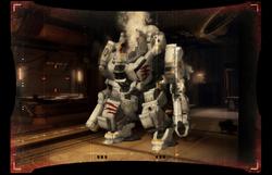 Destroyed Atlas on Omega