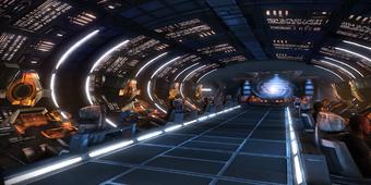 ME1 hub - normandy command deck