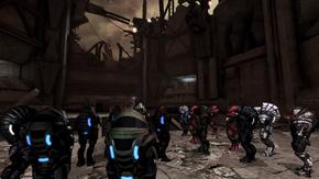 A meeting of krogan at the hollows