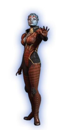 ME2 Samara Basic Outfit