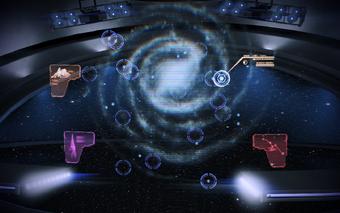 Leviathan I - galaxy map