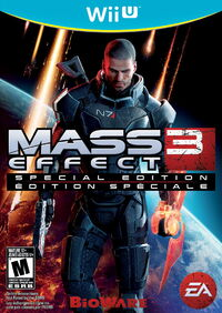 Mass effect 3 special edition wii u cover art